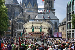 Aachen pilgrimage 2014 Royalty Free Stock Photography