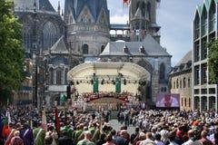 Aachen pilgrimsfärd 2014 Royaltyfri Fotografi
