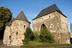 Aachen Ponttor citygate Royalty Free Stock Image