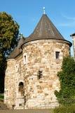 Aachen Ponttor citygate, Germany Royalty Free Stock Photo