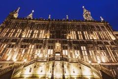 Aachen-Rathaus Lizenzfreies Stockfoto