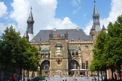 Aachen Rathaus Royalty Free Stock Photo