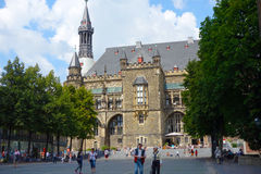 Aachen Rathaus Royalty Free Stock Images