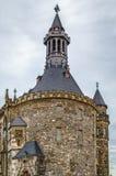 Aachen Rathaus stadshus, Tyskland Fotografering för Bildbyråer