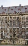 Aachen Rathaus (stadshuset), Tyskland Royaltyfria Foton
