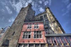 Aachen Rathaus, Tyskland Royaltyfri Foto