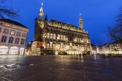 Aachen stadshus Arkivbilder