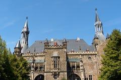Aachen stadshus, Tyskland Royaltyfria Foton