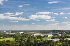 Aachen Tivoli och Hauptstadion stadionsikt Royaltyfria Foton