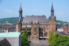 Aachen town hall Royalty Free Stock Photo