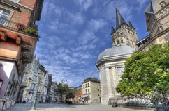 Aachen Tyskland Arkivfoton