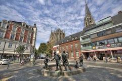 Aachen Tyskland Arkivbilder