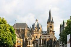 Aachener Dom Arkivfoto