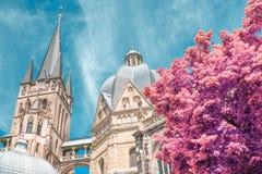 Aachener Dom Royaltyfria Bilder