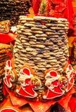 Aachener Printen- Lebkuchen är liknande till pepparkakan som sötas ursprungligen med honung, men för två århundraden är tradition Royaltyfria Bilder