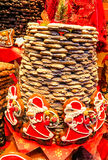 Aachener Printen- Lebkuchen é similar ao pão-de-espécie, abrandado originalmente com mel, mas por dois séculos a tradição está a Imagens de Stock Royalty Free