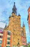 Aachener Rathaus, Rathaus von Aachen, errichtet in der gotischen Art deutschland Stockfotos