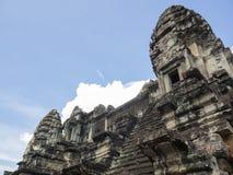 Aagoda antigo de Angkor Wat, Camboja Imagem de Stock