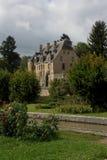 Aak op het kanaal du Nivernais, velo, Chatillon Engelse Bazois Stock Afbeeldingen