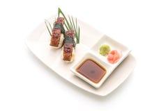 Aal nigiri Sushi - japanische Lebensmittelart Stockfotos