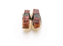 Aal nigiri Sushi - japanische Lebensmittelart Lizenzfreies Stockbild