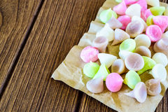 Aalaw, Alua o fascinación, postre dulce co del caramelo tradicional tailandés Imagen de archivo libre de regalías