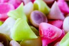Aalaw, Alua oder Faszination, thailändische traditionelle Süßigkeitssüßspeise Co Lizenzfreies Stockbild
