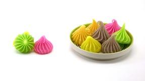 Aalaw o Alua, postre tradicional tailandés del dulce del caramelo Fotos de archivo libres de regalías