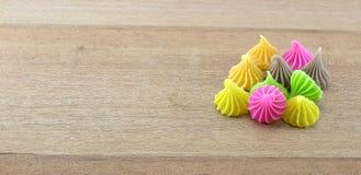 Aalaw o Alua, postre tradicional tailandés del dulce del caramelo Imágenes de archivo libres de regalías