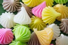 Aalaw o Alua, postre tradicional tailandés del dulce del caramelo Fotografía de archivo libre de regalías