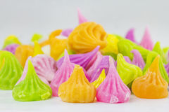 Aalaw, Thai candy. Aalaw candy is A dessert Thai Royalty Free Stock Photos