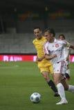 Aalborg BK - Le FK Slavija Sarajevo fotografia stock