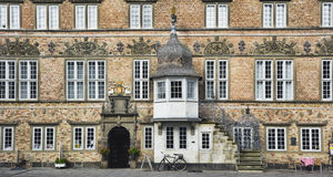 Aalborg, Danimarca, Camera dello scoppio di Jens immagine stock libera da diritti