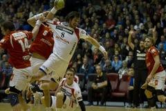Aalborg Handball - KIF Kolding Stock Photography