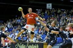 aalborg handball lland nordsj Obraz Stock