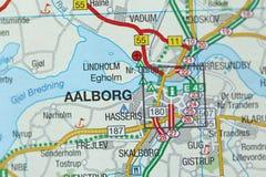 Aalborg Kongeriget Danmark Royaltyfria Bilder