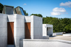 Aalborg museum för moderna Art Kunsten II Royaltyfri Fotografi
