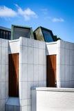 Aalborg museum for Modern Art Kunsten Stock Photography