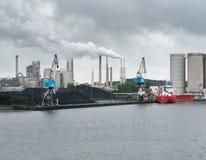 Aalborg-Portlandzementfabrik Stockbild
