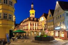 AALEN, GERMANIA, SETTEMBRE 2015: città sulla traccia romantica della strada di A Fotografia Stock Libera da Diritti