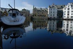 Aalesund en Norvège Photographie stock libre de droits