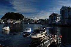 Aalesund en Norvège Images stock