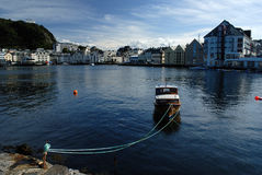 Aalesund in Norwegen Lizenzfreie Stockfotografie
