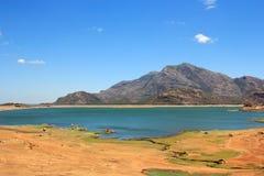 Aaliyar Dam.. Southern Pangong. Western Ghats of South India. Aliyar range Royalty Free Stock Photo
