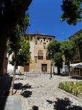 Aalmoezenier Suarez vierkant-Granada-Andalusia-Spanje - EUROPA stock foto's