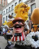 Aalst Carnival Parade Float 2018 Stock Photos