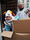 Aalst Carnaval 2017 Lizenzfreie Stockbilder