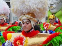 Aalst Carnaval 2017 Royaltyfri Fotografi