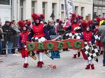 Aalst Carnaval 2017 Imágenes de archivo libres de regalías