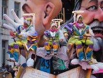 Aalst Carnaval 2017 Arkivbilder